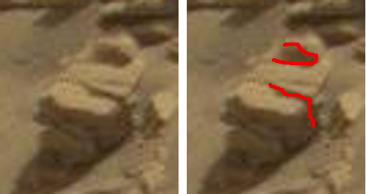mars anomaly broken face sbs sol 712 was life on mars