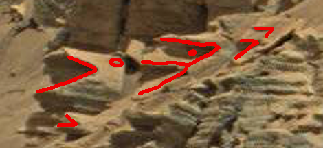 mars anomaly carved stones sol 712 was life on mars 1