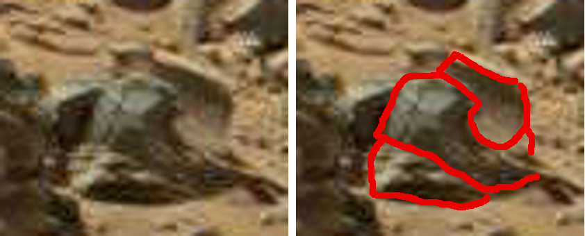 mars anomaly circular statue sbs sol 710 was life on mars