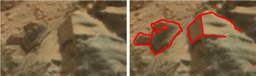 mars anomaly creature outlined sbs sol 712 was life on mars