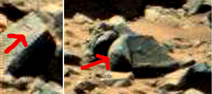 mars anomaly engineered stones with circles sol 710 was life on mars