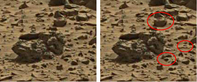 mars anomaly head 2 sol 713 was life on mars 2