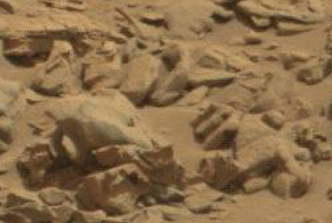 mars anomaly heads b sol 712 was life on mars