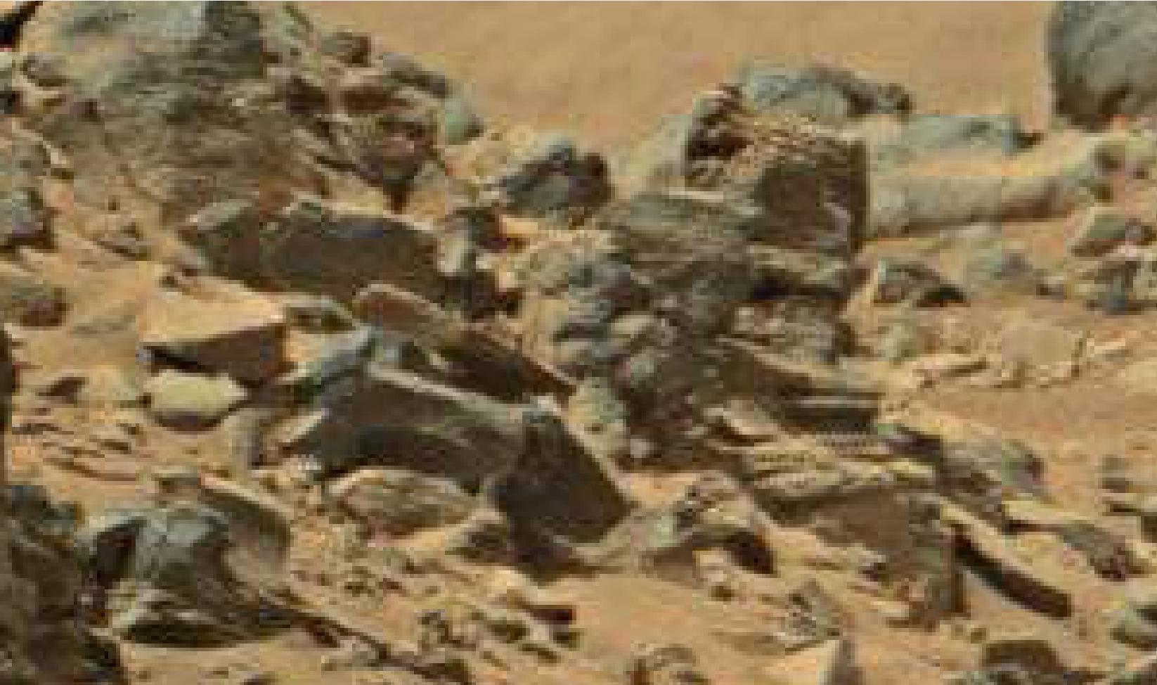 mars anomaly sol 710 skull statue was life on mars