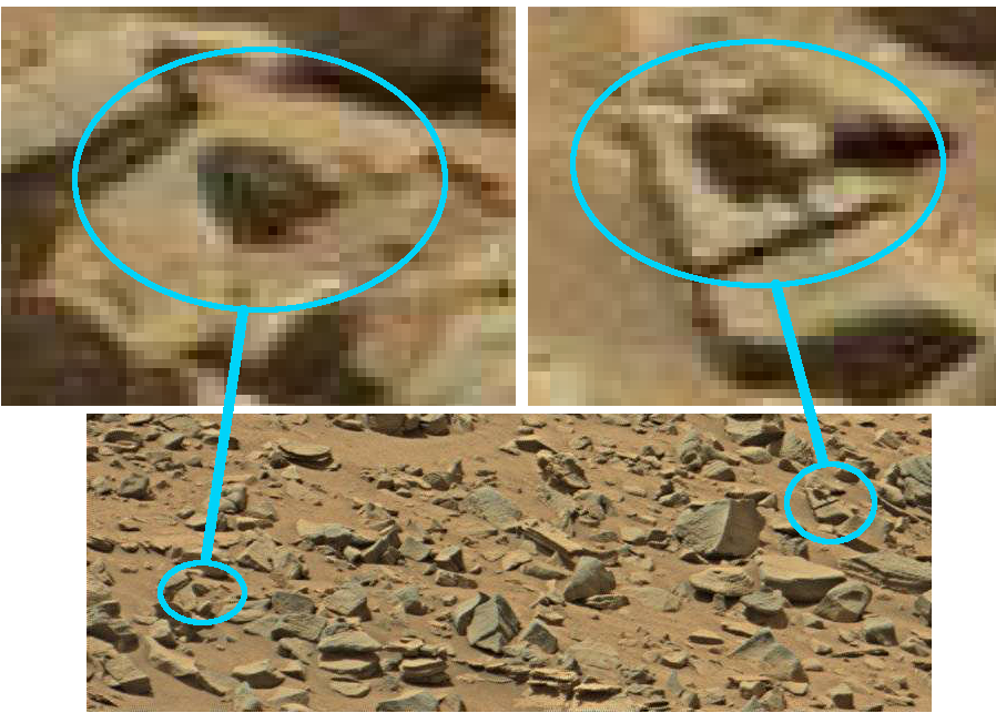 mars anomaly symbol on rock sbs a sol 710 was life on mars