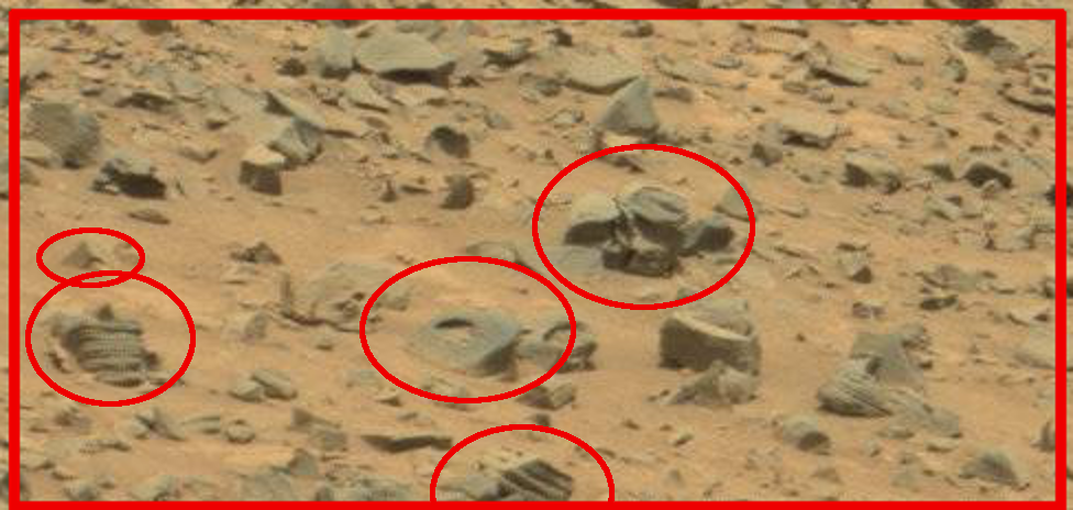 mars-sol-707-gale-crater-anomalies-plant-stones-engineered
