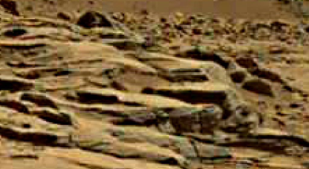 mars sol 714 anomaly artifacts 18 was life on mars