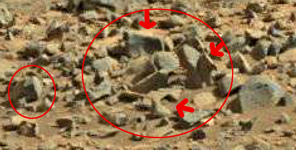mars sol 714 anomaly artifacts 1a