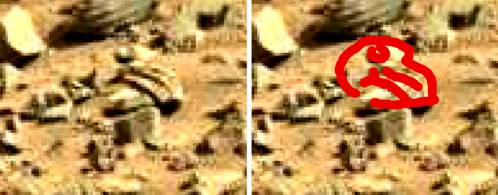 mars sol 714 anomaly artifacts 7 sbs was life on mars