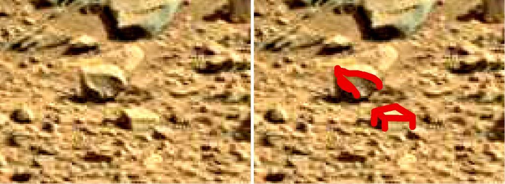 mars sol 714 anomaly artifacts 8 sbs was life on mars