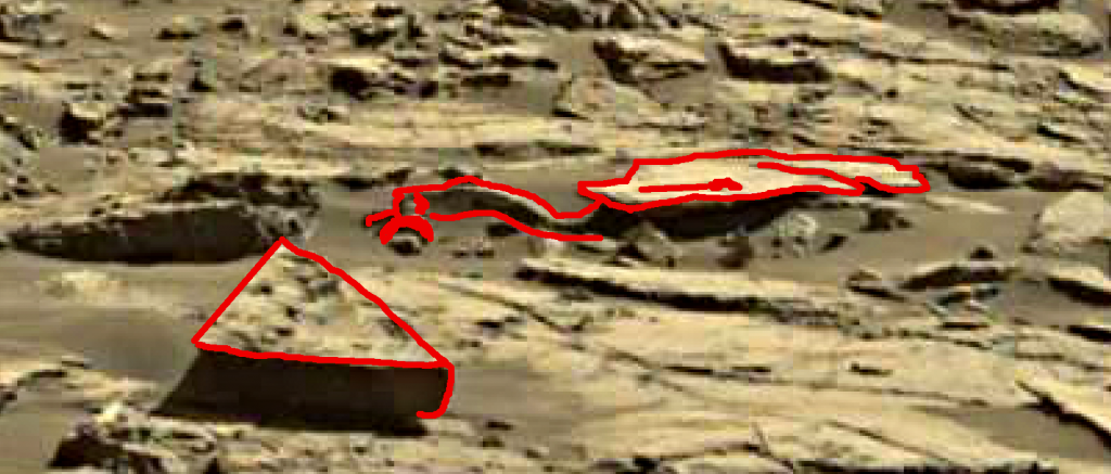 mars sol 1243 anomaly artifacts 1a was life on mars