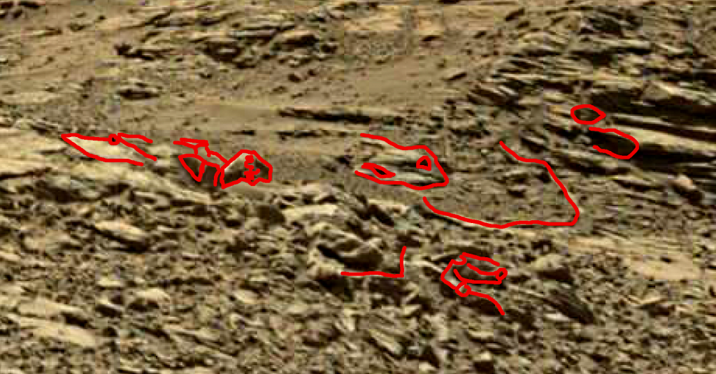 mars sol 1248 anomaly artifacts 10a was life on mars