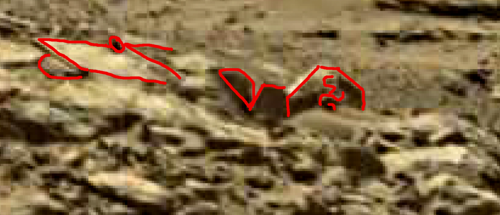 mars sol 1248 anomaly artifacts 14a was life on mars