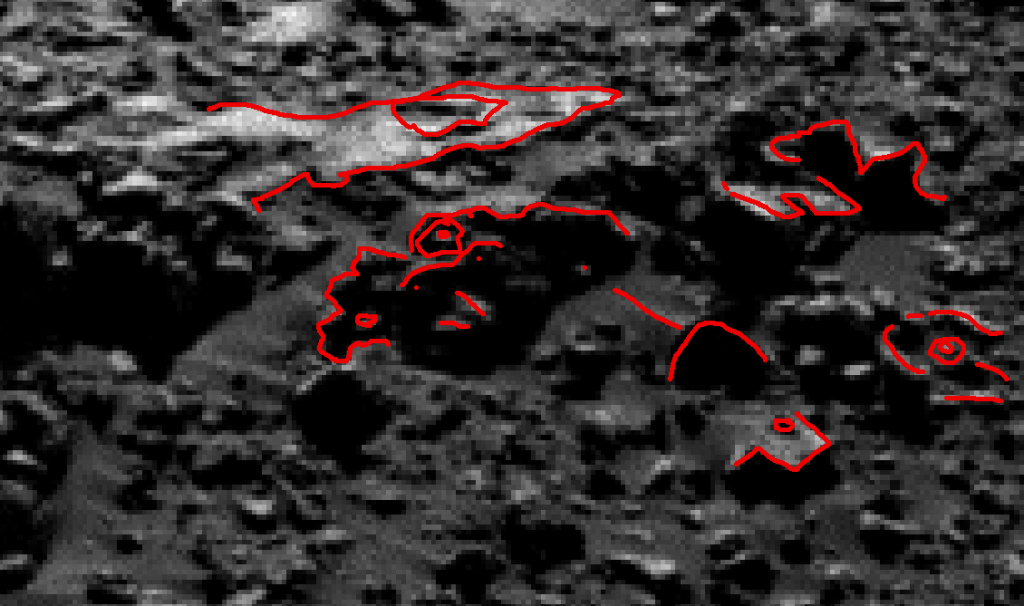 mars sol 1248 anomaly artifacts 22a was life on mars