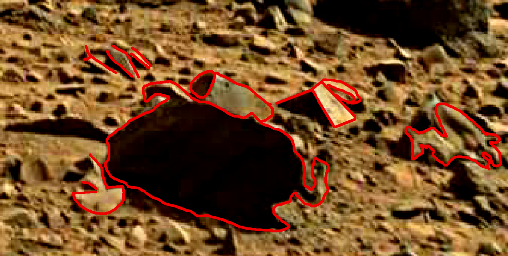 mars sol 714 anomaly artifacts 21a was life on mars