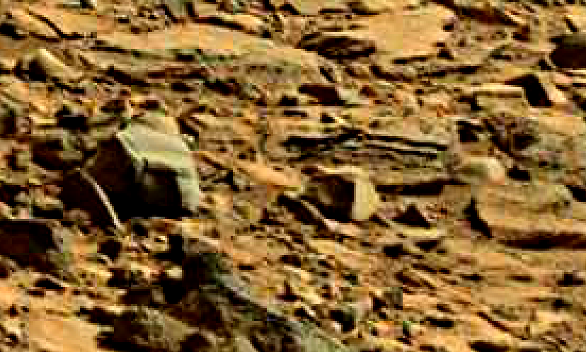 mars sol 714 anomaly artifacts 30 was life on mars