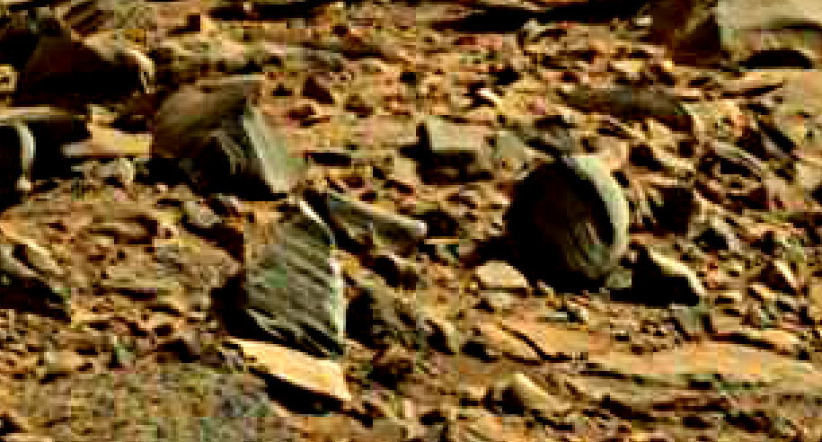 mars sol 714 anomaly artifacts 31 was life on mars