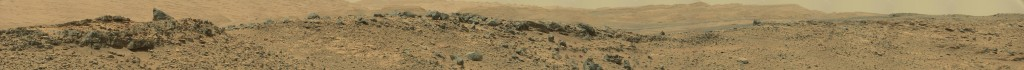 Curiosity Rover panoramic view Sol 710 - was life on mars