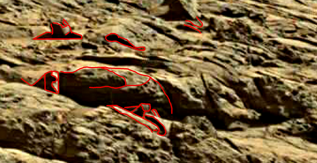 mars sol 1262 anomaly artifacts 3a was life on mars