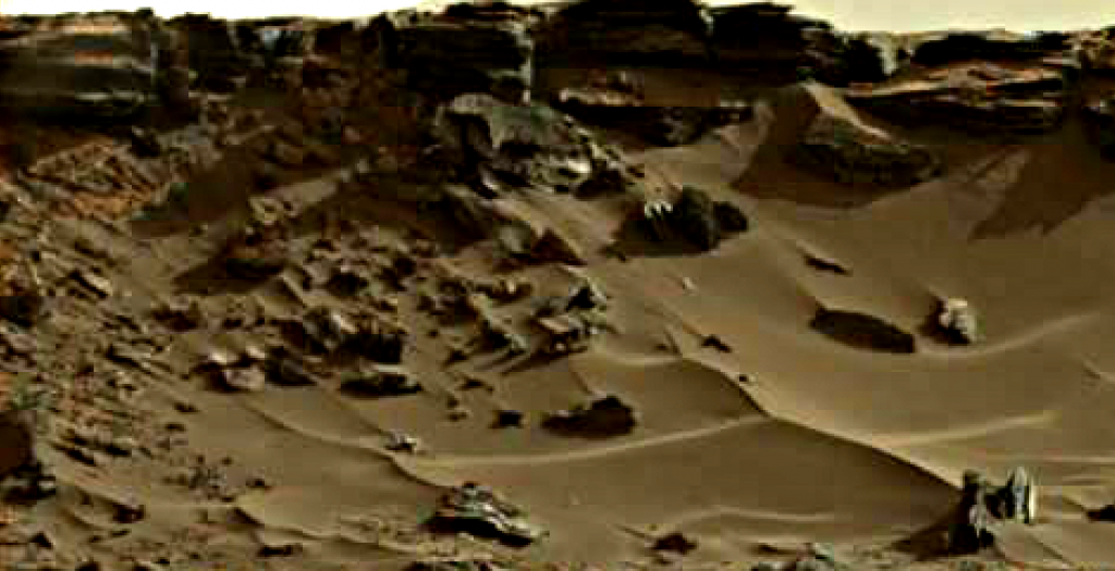 mars sol 1264 anomaly 10 was life on mars