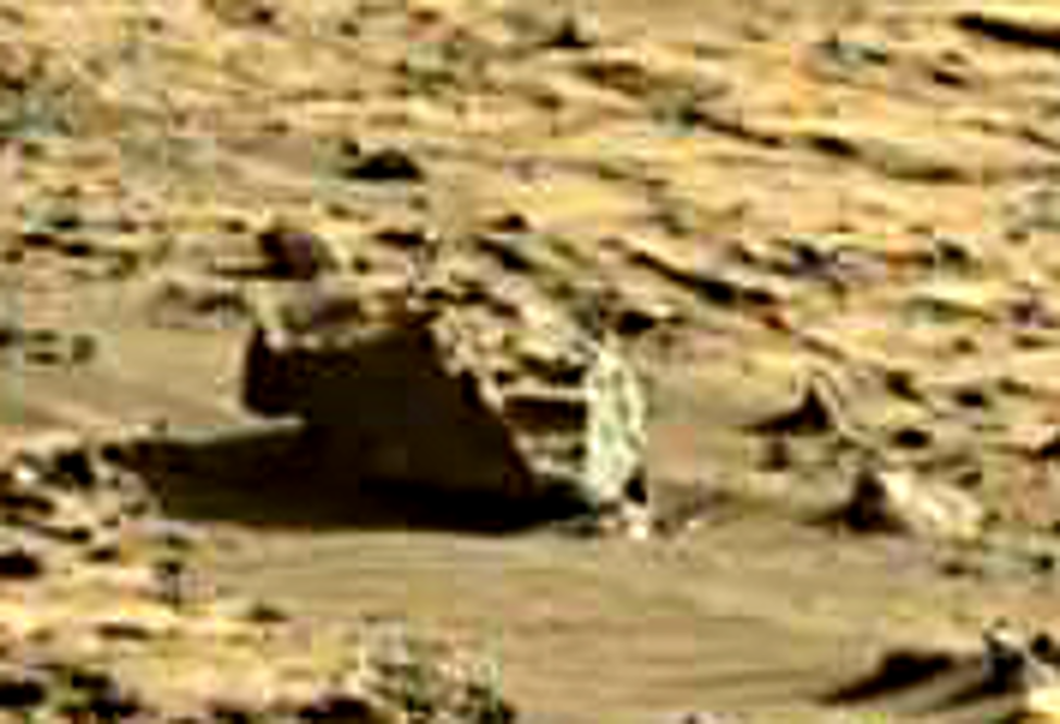mars sol 1264 anomaly 4 was life on mars