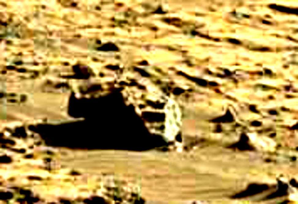 mars sol 1264 anomaly 4a was life on mars