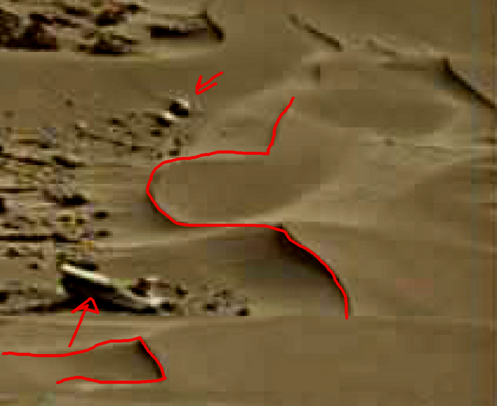 mars sol 1264 anomaly 5a was life on mars