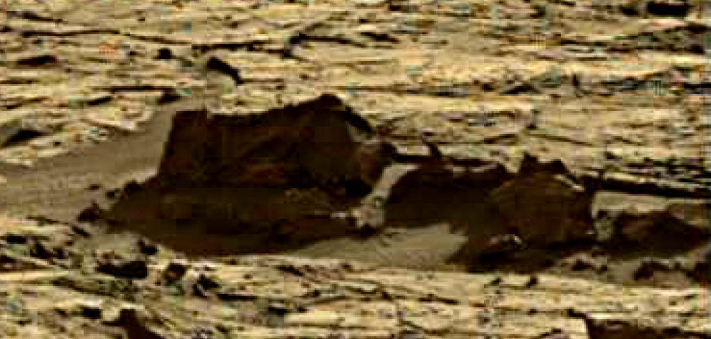 mars sol 1264 anomaly 9 was life on mars