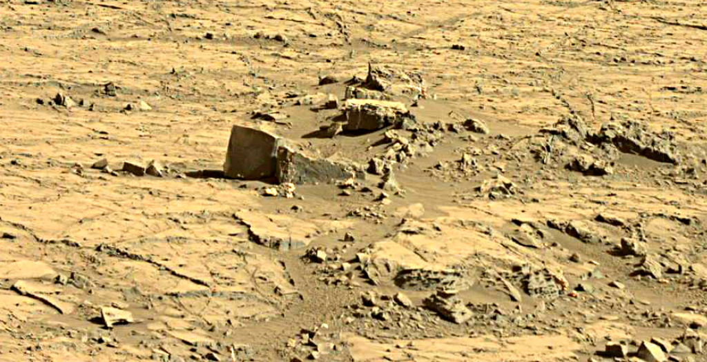 mars sol 1267 anomaly artifacts 1 was life on mars