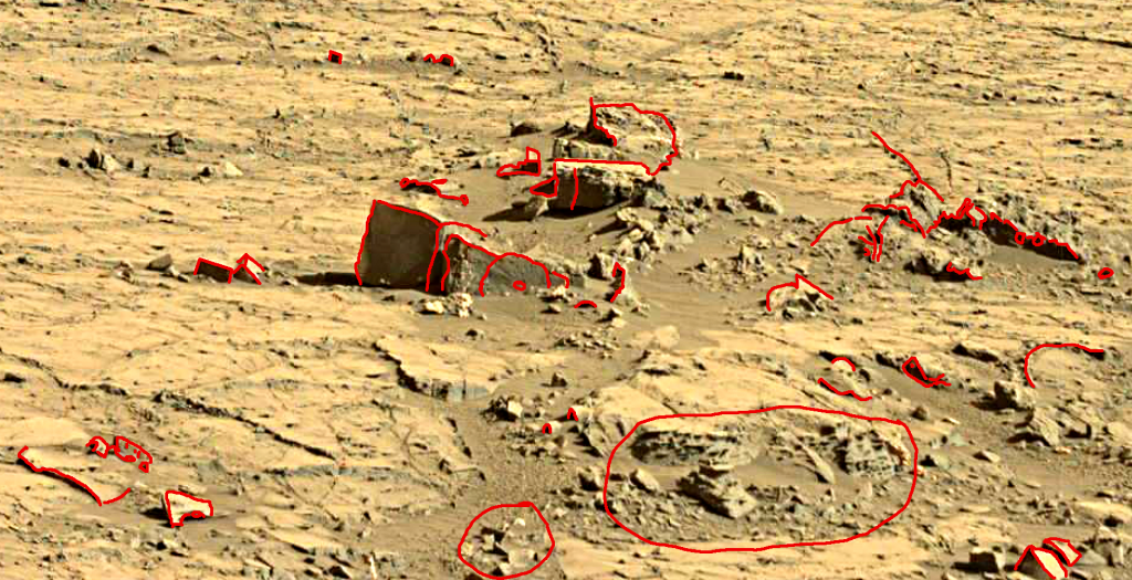 mars sol 1267 anomaly artifacts 1a was life on mars