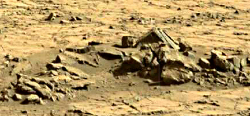 mars sol 1267 anomaly artifacts 2 was life on mars