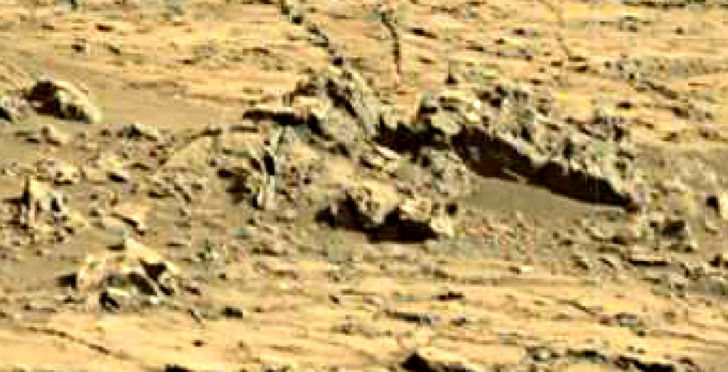 mars sol 1267 anomaly artifacts 6 was life on mars