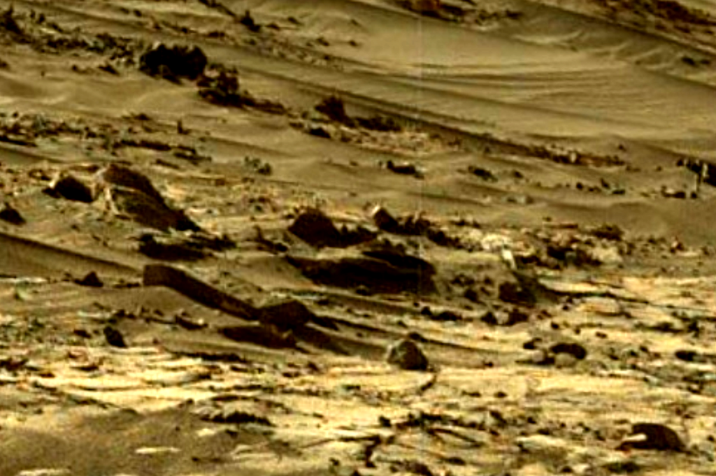 mars sol 1270 anomaly-artifacts 1-1b was life on mars