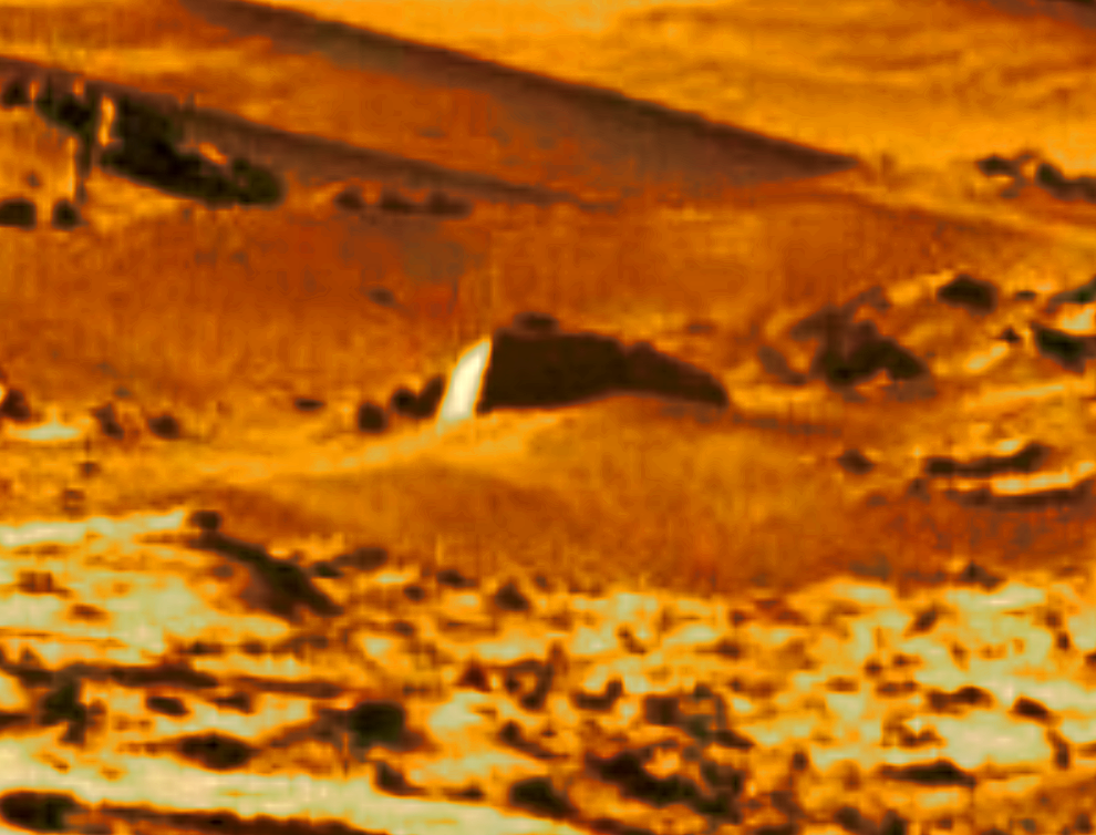 mars sol 1270 anomaly-artifacts 1-2a was life on mars