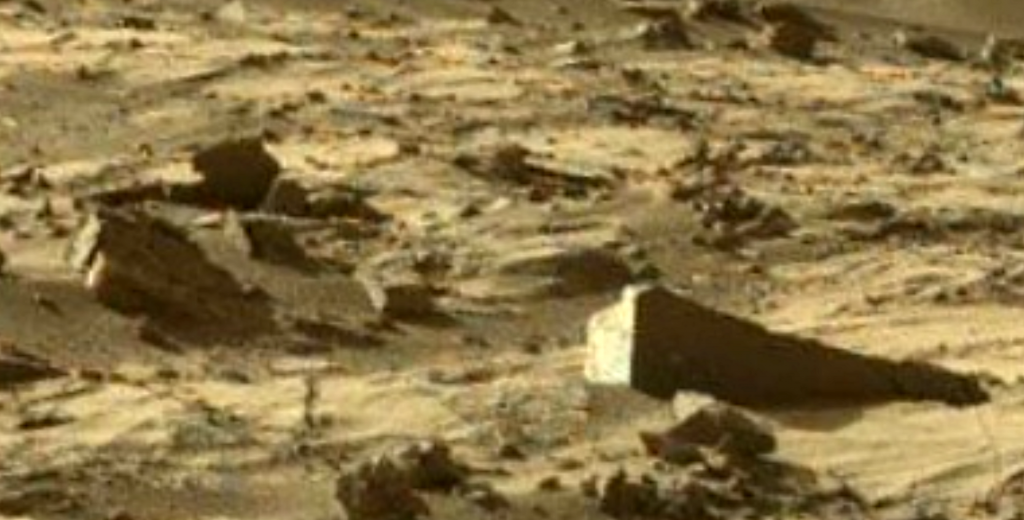 mars sol 1270 anomaly-artifacts 1-3 was life on mars