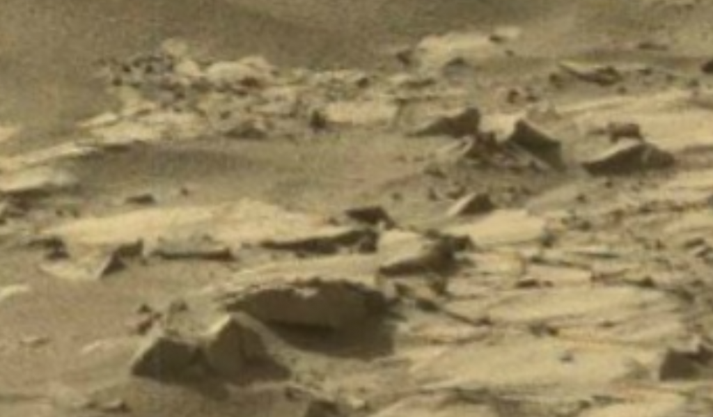 mars sol 1270 anomaly-artifacts 1-5 was life on mars