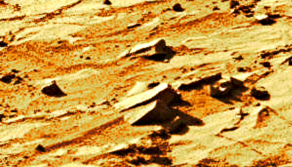 mars sol 1270 anomaly-artifacts 1-6b was life on mars