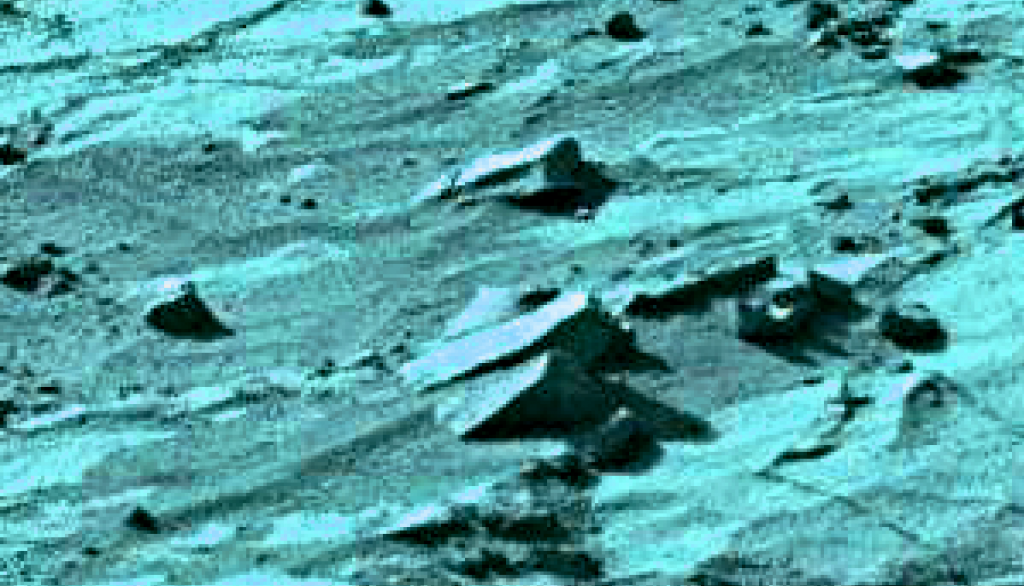 mars sol 1270 anomaly-artifacts 1-6c was life on mars