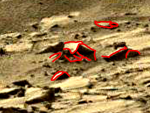 mars sol 1270 anomaly-artifacts 10a was life on mars