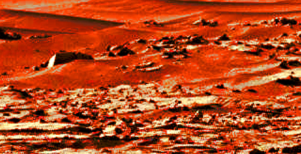 mars sol 1270 anomaly-artifacts 7a was life on mars