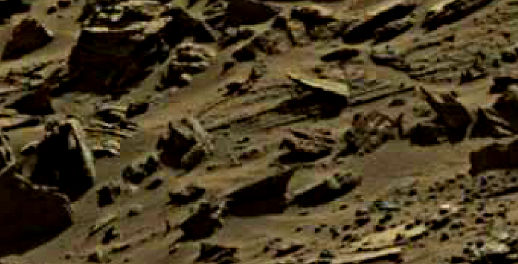mars sol 1274 anomaly 13 was life on mars