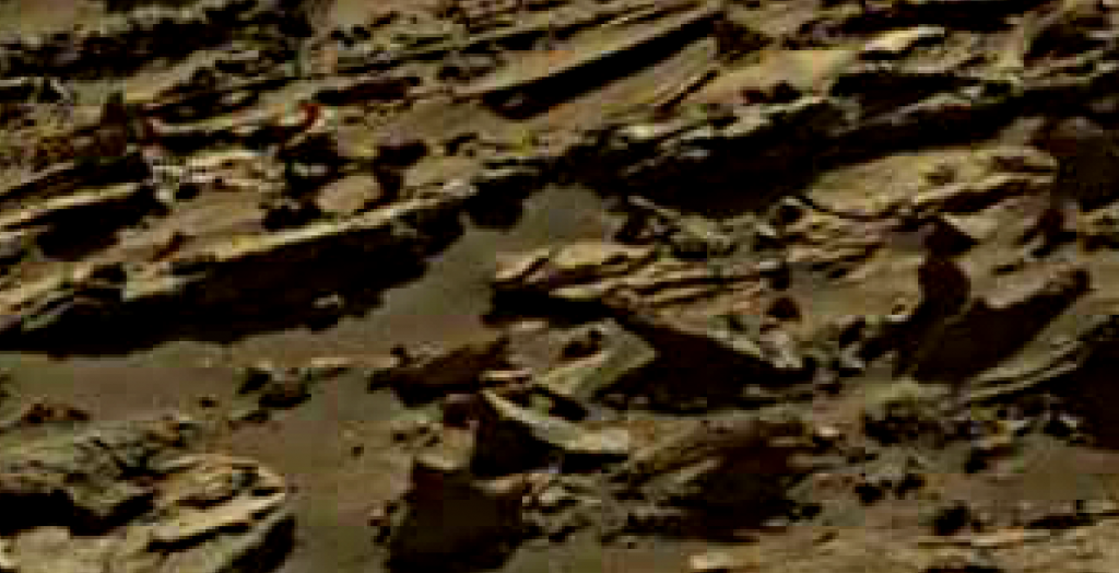 mars sol 1274 anomaly 16 was life on mars