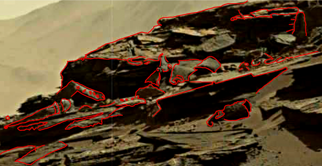 mars sol 1274 anomaly 1a was life on mars