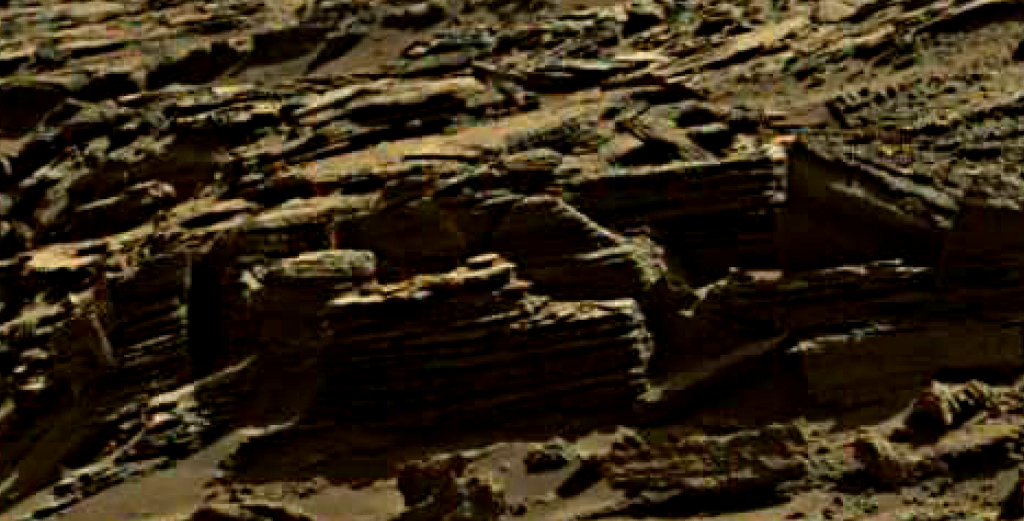 mars sol 1274 anomaly 5 was life on mars