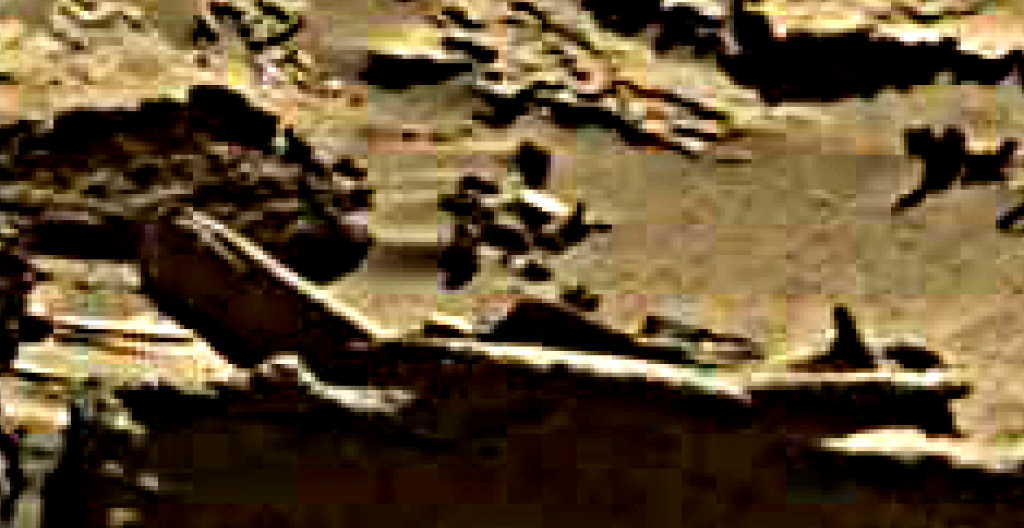 mars sol 1276 anomaly 1 was life on mars