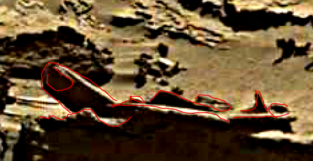 mars sol 1276 anomaly 1a was life on mars