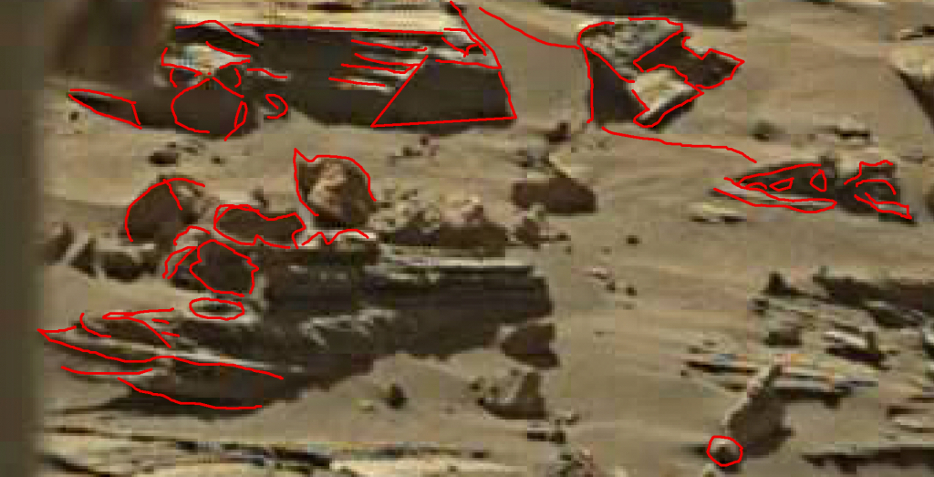 mars sol 1276 anomaly 3a was life on mars
