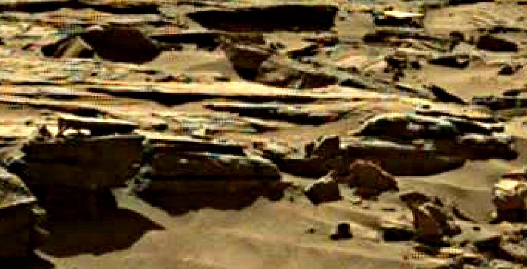 mars sol 1276 anomaly 5 was life on mars