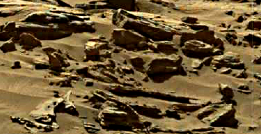 mars sol 1276 anomaly 6 was life on mars