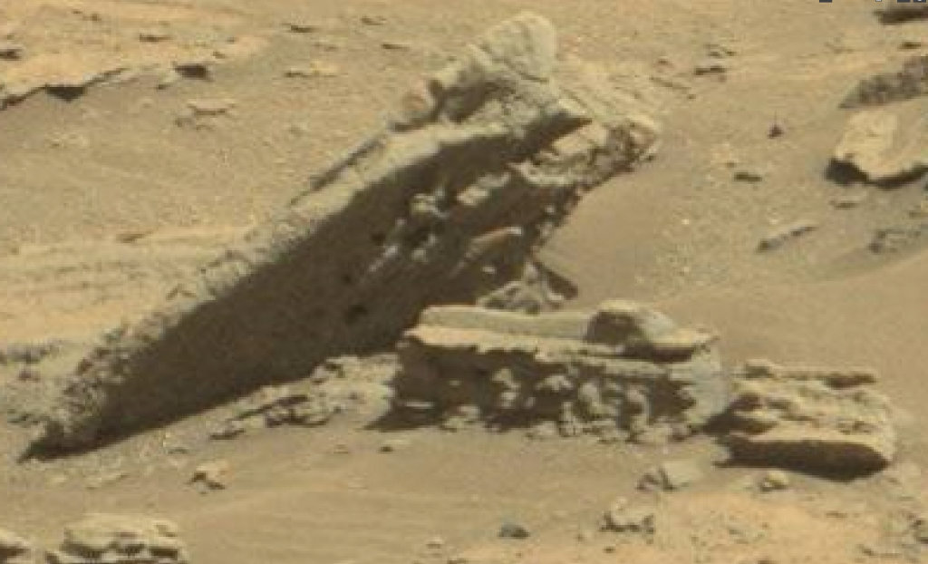 mars sol 1277 anomaly-artifacts 2 was life on mars
